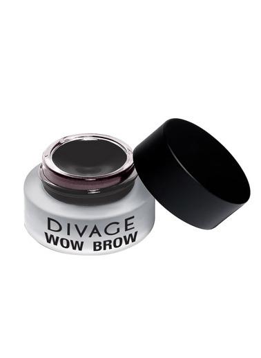 Divage Divage Wow Brow - Jel Kaş Liner - 03 Kahve Siyah Siyah